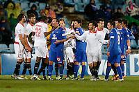 19.01.2013 SPAIN -  La Liga 12/13 Matchday 20th  match played between Getafe C.F. vs Sevilla Futbol Club (1-1) at Alfonso Perez stadium. The picture show