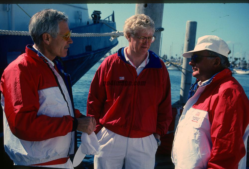America's Cup 1992<br /> Winner AMERICA3<br /> San Diego<br /> Ted Turner