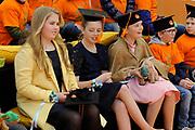 Koningsdag 2017 in Tilburg / Kingsday 2017 in Tilburg<br /> <br /> Op de foto / On the photo:  Prinsessen Alexia, Ariane en Amalia /  Princesses Alexia, Ariane and Amalia