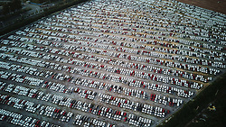 September 6, 2017 - Shenyan, Shenyan, China - Thousands of cars can be seen at the biggest parking lot in Shenyang, northeast China's Liaoning Province. (Credit Image: © SIPA Asia via ZUMA Wire)