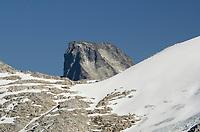 Luna Peak summit in the distance behind Eiley-Wiley Ridge, North Cascades National Park Washington