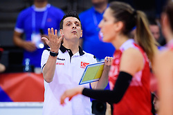 12.06.2018, Porsche Arena, Stuttgart<br /> Volleyball, Volleyball Nations League, Türkei / Tuerkei vs. Niederlande<br /> <br /> Giovanni Guidetti (Trainer / Coach TUR)<br /> <br /> Foto: Conny Kurth / www.kurth-media.de