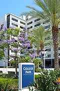 Entrance to College Park, Home of the College of Communications and College of Education at California State University Fullerton