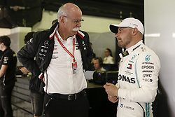 May 11, 2019 - Barcelona, Spain - Motorsports: FIA Formula One World Championship 2019, Grand Prix of Spain, ..Dr. Dieter Zetsche (GER, Chairman of the Board of Management of Daimler AG, Head of Mercedes-Benz Cars), #77 Valtteri Bottas (FIN, Mercedes AMG Petronas Motorsport) (Credit Image: © Hoch Zwei via ZUMA Wire)