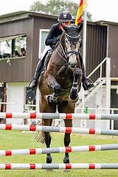 03, Springpferde Prfg. Kl. L,Kellinghusen - Reittunier 26. - 27.06.2021, Janet Maas (GER), All In 19,