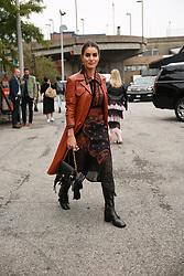 September 12, 2018 - New York, New York, United States - Camilla Coelho attends the Coach 1941 Runway Show during New York Fashion Week at Pier 94 on September 11, 2018 in New York City. (Credit Image: © Oleg Chebotarev/NurPhoto/ZUMA Press)