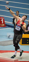 07.03.2014, Ergo Arena, Sopot, POL, IAAF, Leichtathletik Indoor WM, Sopot 2014, Tag 1, im Bild DAWID STORL // DAWID STORL during day one of IAAF World Indoor Championships Sopot 2014 at the Ergo Arena in Sopot, Poland on 2014/03/07. EXPA Pictures © 2014, PhotoCredit: EXPA/ Newspix/ Marek Biczyk<br /> <br /> *****ATTENTION - for AUT, SLO, CRO, SRB, BIH, MAZ, TUR, SUI, SWE only*****