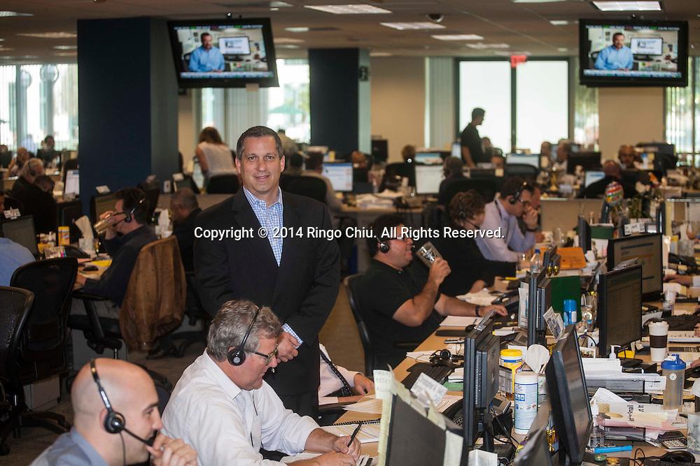 Brian Crumbaker, CEO, Goldline International.<br /> <br /> (Photo by Ringo Chiu/PHOTOFORMULA.com)