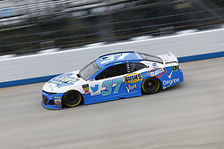 October 5, 2018 - Dover, Delaware, United States of America - Chris Buescher (37)  takes to the track to practice for the Gander Outdoors 400 at Dover International Speedway in Dover, Delaware. (Credit Image: © Justin R. Noe Asp Inc/ASP via ZUMA Wire)