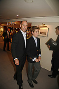Charles Turner and his son Piers, New Collectors Evening. The Grosvenor House Art and Antiques Fair. 20 June 2006. ONE TIME USE ONLY - DO NOT ARCHIVE  © Copyright Photograph by Dafydd Jones 66 Stockwell Park Rd. London SW9 0DA Tel 020 7733 0108 www.dafjones.com