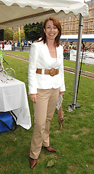 Presenter KAY BURLEY at the 20th annual House of Lords v House of Commons Tug of War in aid of Macmillan Cancer Support held on Abingdon Green, Westminster, London on 13th June 2007.<br /><br />NON EXCLUSIVE - WORLD RIGHTS