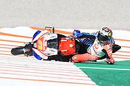 #43 Jack Miller, Australian: Alma Pramac Racing Ducati crashes in FP2 during the Gran Premio Motul de la Comunitat Valenciana at Circuito Ricardo Tormo Cheste, Valencia, Spain on 15 November 2019.