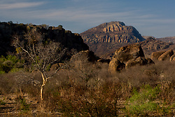 Stock photo of the rugged Davis Mountain Range, Jeff Davis County, Texas