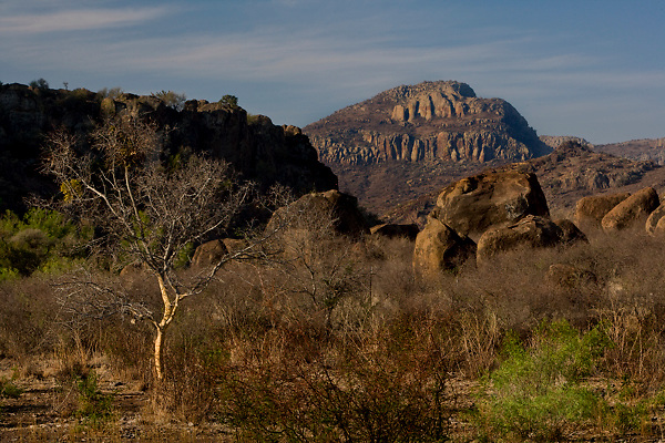 Stock photo of the rugged Davis Mountain Range, Jeff Davis County, Texas
