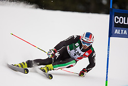 22.12.2013, Gran Risa, Alta Badia, ITA, FIS Ski Weltcup, Alta Badia, Riesenslalom, Herren, 1. Durchgang, im Bild Manfred Moelgg (ITA) // Manfred Moelgg of Italy in action during mens Giant Slalom of the Alta Badia FIS Ski Alpine World Cup at the Gran Risa Course in Alta Badia, Italy on 2012/12/22. EXPA Pictures © 2013, PhotoCredit: EXPA/ Johann Groder
