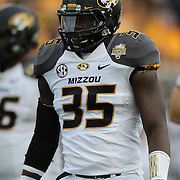 ORLANDO, FL - JANUARY 01: Marcus Loud #35 of the Missouri Tigers is seen on the field during the Buffalo Wild Wings Citrus Bowl between the Minnesota Golden Gophers and the Missouri Tigers at the Florida Citrus Bowl on January 1, 2015 in Orlando, Florida. (Photo by Alex Menendez/Getty Images) *** Marcus Loud