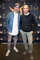 Jason Matthewson,  Marco Recalchi at the Press Conference for the Gold Movie Awards, announcing nominees for the awards to held on 9th January. Regent St Theatre London. 13.12.19