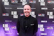 Nicholas Schrunk on the red carpet at the screening of Blood Road at the Bluebird Theater in Denver, CO, USA on 27 June, 2017.