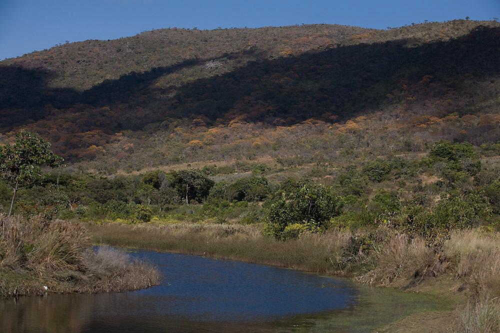 Santana do Riacho _ MG, 27 de Junho de 2008   ..Cachoeira da Farofa, Parque Nacional da Serra do Cipo....Foto: LEO DRUMOND / AGENCIA NITRO