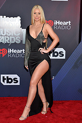 Iggy Azalea attends the 2018 iHeartRadio Music Awards at the Forum on March 11, 2018 in Inglewood, California. Photo by Lionel Hahn/AbacaPress.com