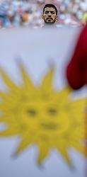 June 25, 2018 - Samara, Russia - FIFA World Cup 2018 Luis SuÁrez.Fotbolls-VM, match 33, Uruguay-Ryssland, Samara Stadium. Uruguay vs Russia, Group A, Samara Arena, Samara, Russia, 25 June 2018, (Credit Image: © Orre Pontus/Aftonbladet/IBL via ZUMA Wire)