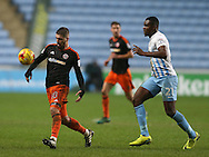 Kieron Freeman of Sheffield Utd during the English League One match at the Rioch Arena Stadium, Coventry. Picture date: December 15th, 2016. Pic Simon Bellis/Sportimage