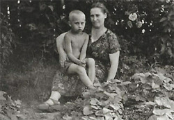 Before rising to power as one of the most infamous leaders in the world, Putin was a playful, hipster-dressing man in love. July 1958 - Russia - VLADIMIR VLADIMIROVICH PUTIN, 5, (born October 7, 1952 in Leningrad, Russian SFSR, Soviet Union (now Saint Petersburg with his mother MARIA IVANOVNA, 41, summer of 1958. The youngest of three children of Vladimir Spiridonovich Putin (1911–1999) and Maria Ivanovna Putina (née Shelomova; 1911–1998). Putin's mother was a factory worker and his father was a conscript in the Soviet Navy, serving in the submarine fleet in the early 1930s. At age 12, he began to practice sambo and judo. Speaks German fluently. Studied Law at the Saint Petersburg State University in 1970 and graduated in 1975. In 1975, joined the KGB. (Credit Image: © Russian Archives via ZUMA Wire)