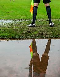 Referee during football match between NK Triglav Kranj and NK Domzale in 35th Round of Prva liga Telekom Slovenije 2018/19, on May 22nd, 2019, in Sports park Kranj, Slovenia. Photo by Vid Ponikvar / Sportida