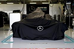October 25, 2018 - Mexico-City, Mexico - Motorsports: FIA Formula One World Championship 2018, Grand Prix of Mexico, ..Garage of Mercedes AMG Petronas Motorsport  (Credit Image: © Hoch Zwei via ZUMA Wire)