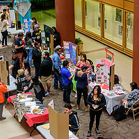 Gurley Hall is alive with activity as Anthropology and Geography students will present interactive educational displays and materials focused on peoples' lived experiences, both locally and globally  at the University of New Mexico in Gallup Thursday.