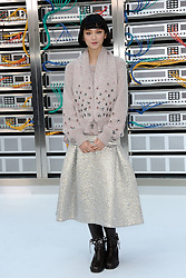 Angela Yuen attending the Chanel show as a part of Paris Fashion Week Ready to Wear Spring/Summer 2017 in Paris, France on October 04, 2016. Photo by Aurore Marechal/ABACAPRESS.COM