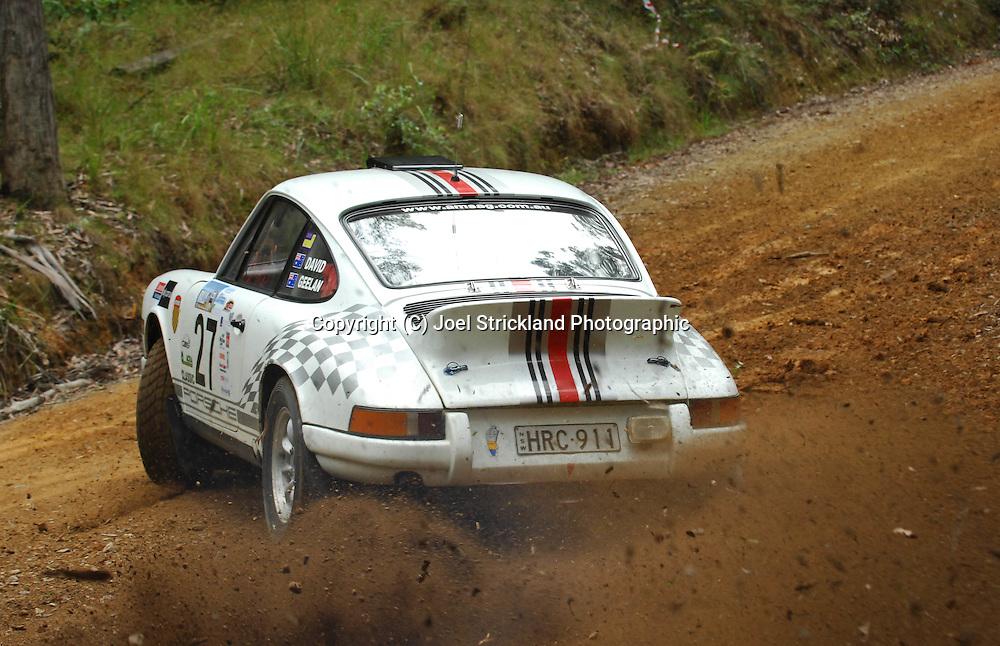 Jeffrey David & Grant Geelan.Motorsport-Rally/2008 Coffs Coast Rally.Shakedown, Bucca Rd, .Coffs Harbour, NSW.14th of November 2008.(C) Joel Strickland Photographics