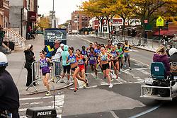 lead pack elite women apx. mile 3
