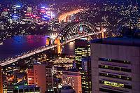 Harbour Bridge from Sydney Tower