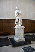 Statue of Isaac Newton, Trinity College chapel, University of Cambridge, England
