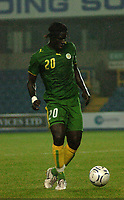 Photo: Tony Oudot.<br /> Ghana v Senegal. International Friendly. 21/08/2007.<br /> Bayal Sall of Senegal