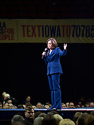 01 NOVEMBER 2019 - DES MOINES, IOWA: US Senator KAMALA HARRIS (D-CA), a candidate for president, speaks at the Liberty and Justice Celebration in the Wells Fargo Arena in Des Moines. The Liberty and Justice Celebration is a fund raiser for the Iowa Democratic Party. Many of the Democratic candidates for the US presidency spoke at the 2019 Celebration. Iowa holds the first presidential selection event of the 2020 election cycle. The Iowa Caucuses are Feb. 3, 2020.       PHOTO BY JACK KURTZ