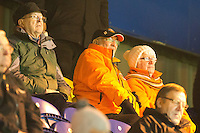 Blackpool fans at Mansfield<br /> <br /> Photographer James Williamson/CameraSport<br /> <br /> The EFL Sky Bet League Two - Mansfield Town v Blackpool - Tuesday 22nd November 2016 - One Call Stadium - Mansfield<br /> <br /> World Copyright © 2016 CameraSport. All rights reserved. 43 Linden Ave. Countesthorpe. Leicester. England. LE8 5PG - Tel: +44 (0) 116 277 4147 - admin@camerasport.com - www.camerasport.com