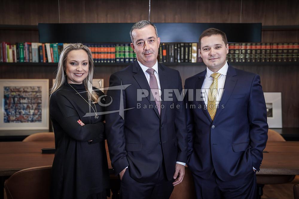 Carolina Perroni Sanvicente, Michel Zavagna Gralha e Jacques Antunes Soares da Zavagna Gralha Advogados. Foto: Jefferson Bernardes/ Agência Preview