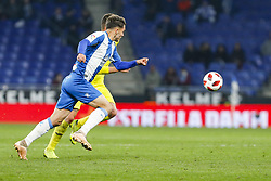 January 17, 2019 - Barcelona, Catalonia, Spain - Lluis Lopez (27) of RCD Espanyol during the match RCD Espanyol v Villarreal CF, for the round of 16 of the Copa del Rey played at Camp Nou  on 17th January 2019 in Barcelona, Spain. (Credit Image: © Mikel Trigueros/NurPhoto via ZUMA Press)