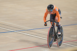 March 2, 2019 - Pruszkow, Poland - Kyra Lamberink of the Netherlands competes in the Women's 500m time trial on day four of the UCI Track Cycling World Championships held in the BGZ BNP Paribas Velodrome Arena on March 02 2019 in Pruszkow, Poland. (Credit Image: © Foto Olimpik/NurPhoto via ZUMA Press)