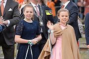 Koningsdag 2017 in Tilburg / Kingsday 2017 in Tilburg<br /> <br /> Op de foto / On the photo:  Prinses Alexia en Prinses Ariane / Princess Ariane and Princess Alexia