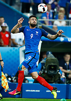 Olivier Giroud (France)<br /> Paris 03-07-2016 Stade de France Football Euro2016 France - Iceland / Francia - Islanda Quarter finals <br /> Foto Matteo Ciambelli / Insidefoto