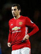 Henrikh Mkhitaryan of Manchester United during the English Premier League match at Old Trafford Stadium, Manchester. Picture date: April 4th 2017. Pic credit should read: Simon Bellis/Sportimage