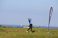 Eugene Smith (Laytown & Bettystown) on the 1st tee during Round 4 of The West of Ireland Open Championship in Co. Sligo Golf Club, Rosses Point, Sligo on Sunday 7th April 2019.<br /> Picture:  Thos Caffrey / www.golffile.ie