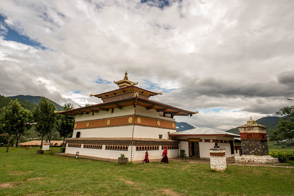 Bhutan, temple <br /> <br /> Full photoessay at http://xpatmatt.com/photos/bhutan-photos/
