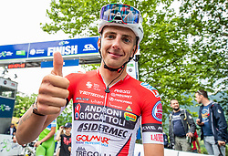 Ziga JERMAN of ANDRONI GIOCATTOLI during 2nd Stage of 27th Tour of Slovenia 2021 cycling race between Zalec and Celje (147 km), on June 10, 2021 in Slovenia. Photo by Vid Ponikvar / Sportida
