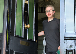 © Licensed to London News Pictures. 27/05/2019. London, UK. Secretary of State for Environment, Food and Rural Affairs, MICHAEL GOVE MP, is seen returning from jogging near his London home today. Mr Gove officially announced that he will run for leadership of the Conservative Party yesterday following Prime Minister, Theresa May's resignation last week. Photo credit: Vickie Flores/LNP
