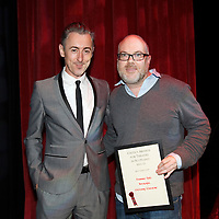 Picture Shows : BEST DIRECTOR:.Dominic Hill, Betrayal, Citizens Theatre Company presented by Alan Cumming..The 10th Annual Critics? Awards for Theatre in Scotland (CATS), Sunday 10th June at The Tron Theatre, Glasgow..Picture by Drew Farrell Tel : 07721-735041..NOTES TO EDITORS:.For further information on the CATS visit www.criticsawards.theatrescotland.com.Alan Cumming who is starring in Macbeth, the National Theatre of Scotland?s forthcoming play directed by John Tiffany and Andrew Goldberg at Tramway, Glasgow from Wednesday 13th June - Saturday 30th June, 2012, presents the CATS Awards. .? Over 200 productions were considered for nominations.? 123 were eligible for Best New Play.? 36 of those productions were created for children and young people.? 23 shows have reached the final nominations stage.www.criticsawards.theatrescotland.com.For further press information or images please contact:.Wendy Grannon Tel: +44 (0) 07916 137 632 .E: wendy@wendygrannon.co.uk...