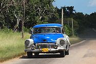 Buick near San Miguel de los Banos, Matanzas, Cuba.